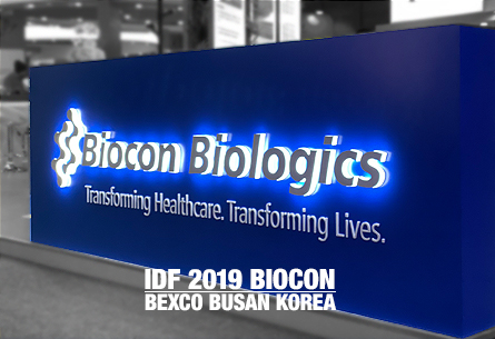 IDF 2019 BUSAN BIOCON BIOLOGICS